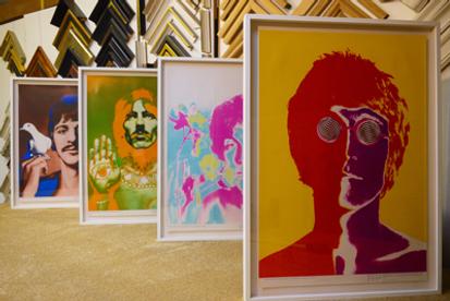 Beatles Avedon 60's posters