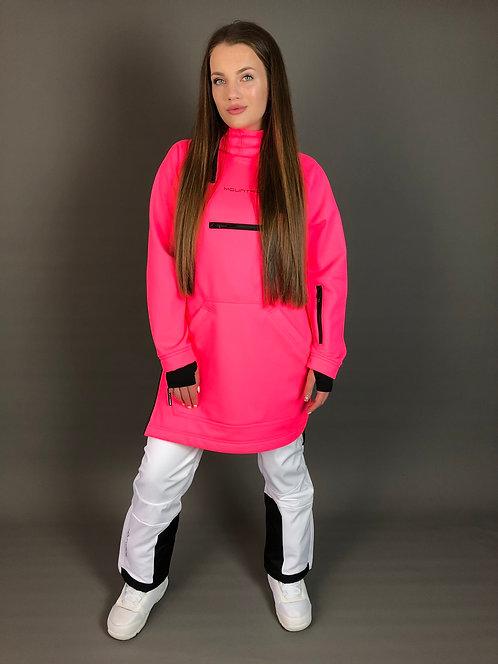 Худи Mountride неоново-розовый (софт)