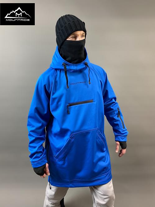 Худи Mountride синий (софт)