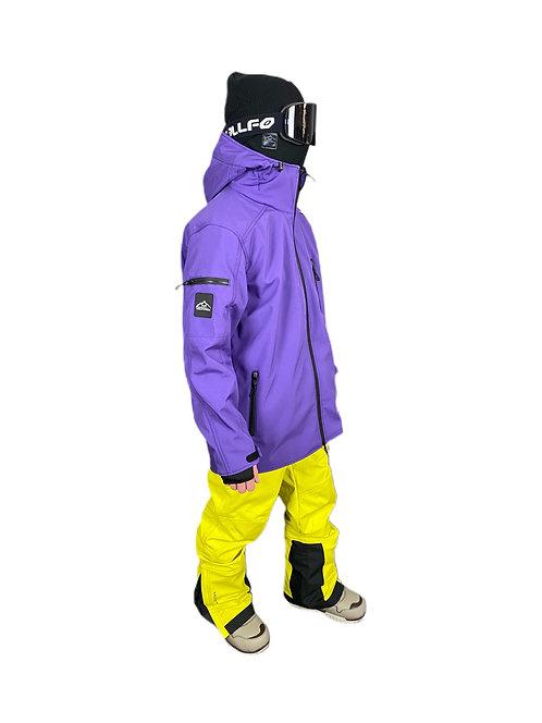 Куртка mountride фиолетовая
