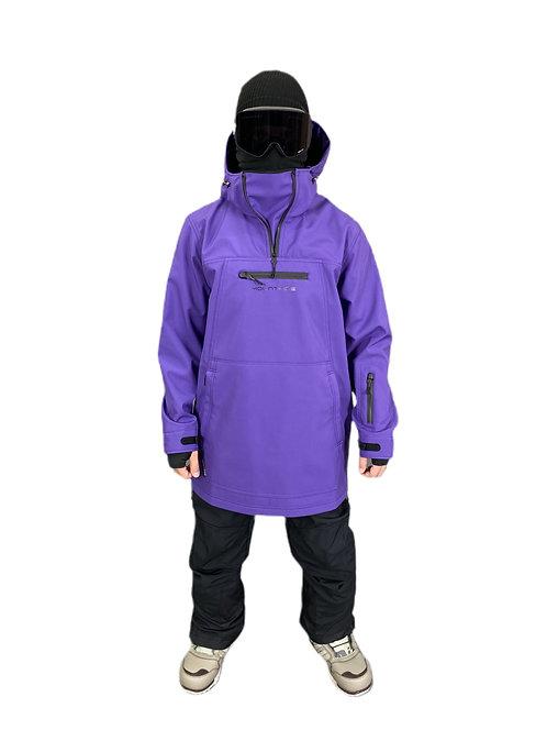Анорак мужской фиолетовый ( софт)