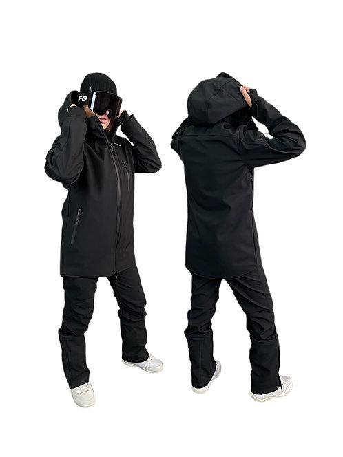 Куртка чёрная mountride