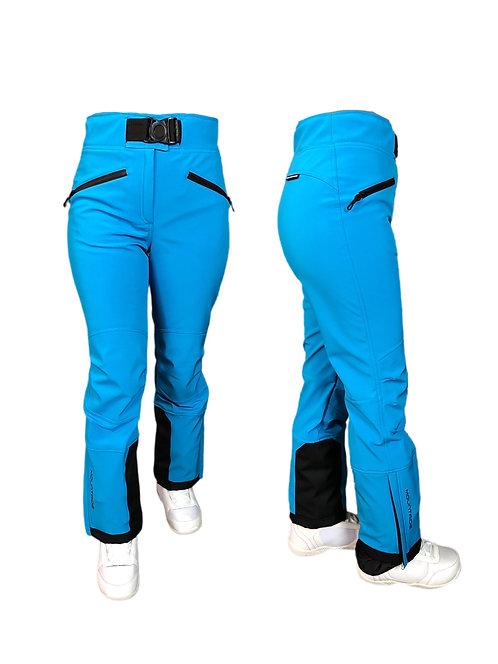 Брюки горнолыжные лазурь (голубые) Mountride