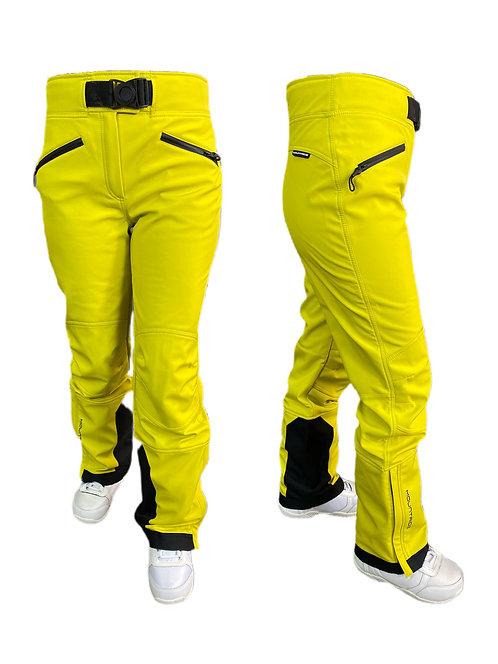 Брюки горнолыжные лимон Mountride