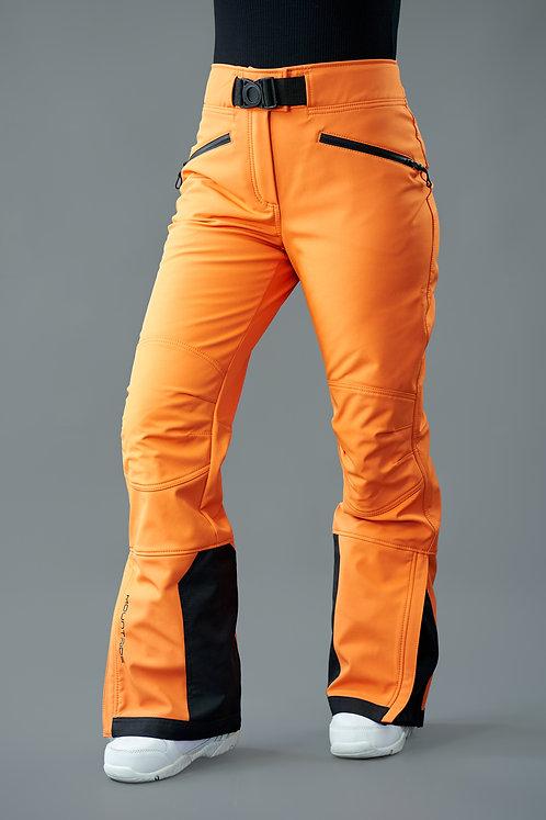 Брюки горнолыжные оранжевые Mountride