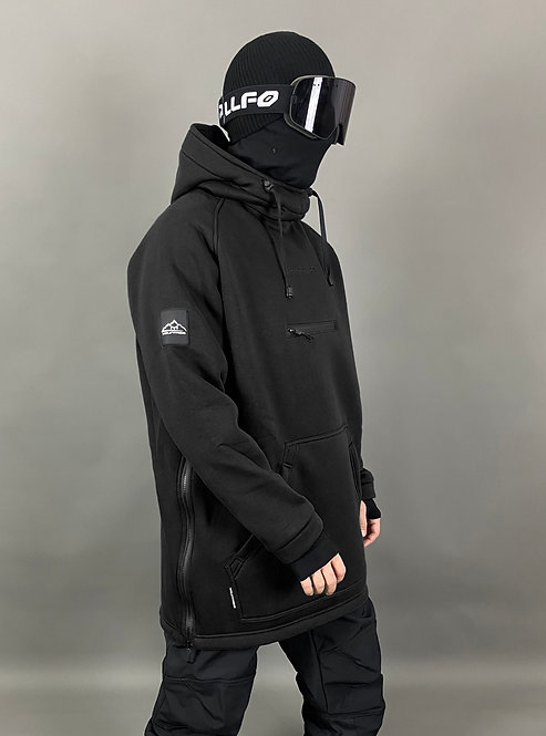 Mountride (футер+флис) чёрный
