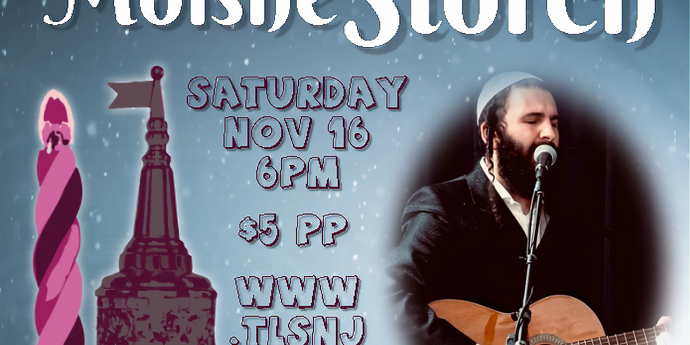Musical Havdallah Concert with Moishe Storch