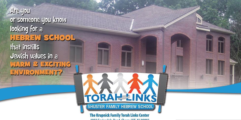 Hebrew School Registration 2020