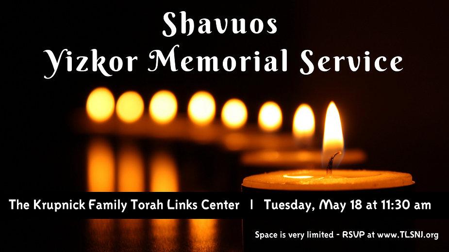 Shavuos Yizkor Service.jpg