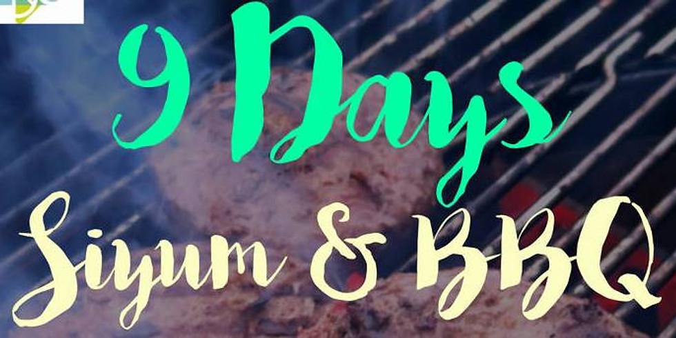 9 Days Siyum and BBQ Dinner