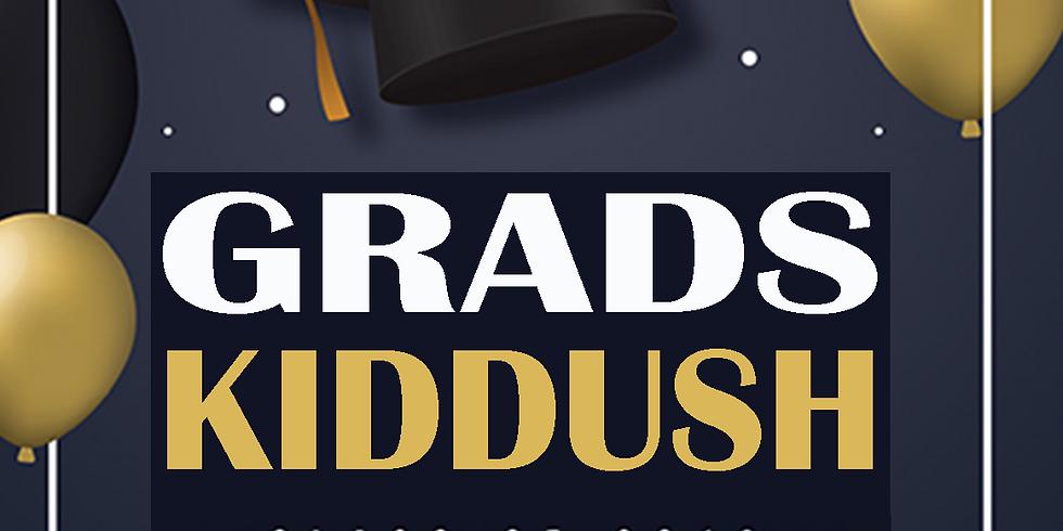 Graduation Kiddush Behaalosecha
