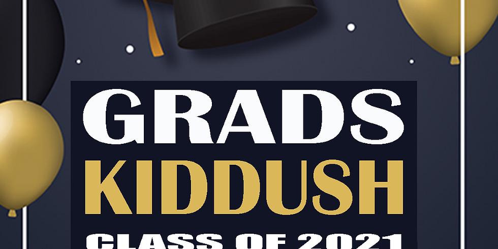 Graduation Kiddush Parshas Chukas