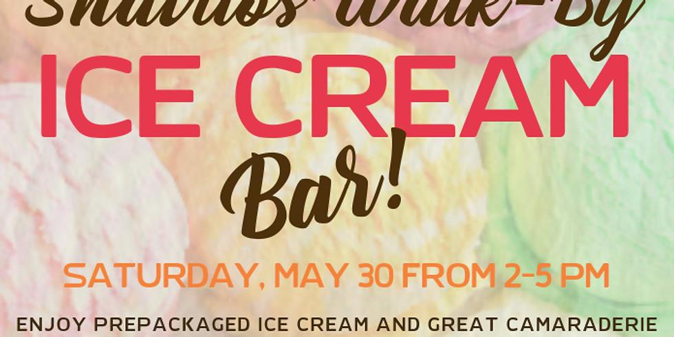 Shavuos Walk-By Ice Cream Bar