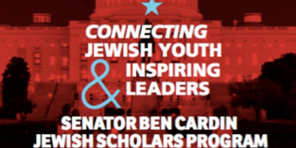 Senator Ben Cardin Jewish Scholars Program for Teens