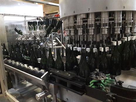 Mise en bouteille du Crémant