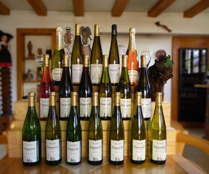 Notre gamme de vin d'Alsace