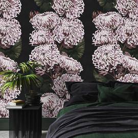 New for 2020, Chrysanths Nuit Wallpaper