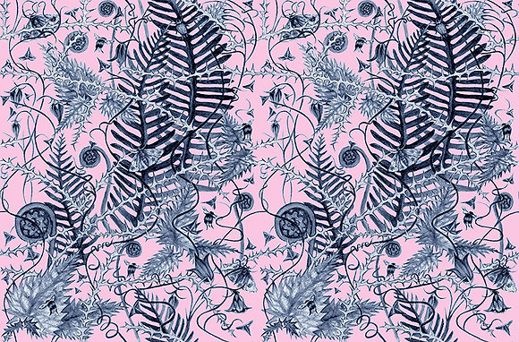 Secret Hedgerow - Last Frost - fabrics by the meter - £89 to £119