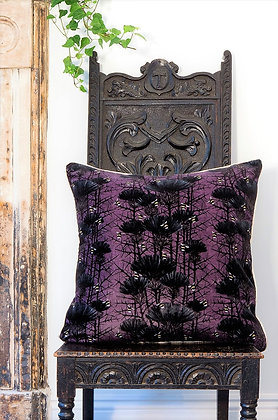 Bill's Bees - Ghost Lilac - Velvet Cushion - £89/NOW £43
