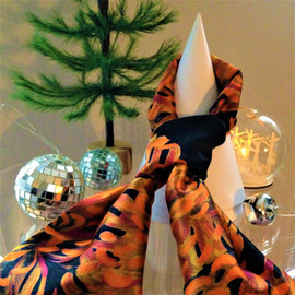New Pure Silk Scarves, 2019