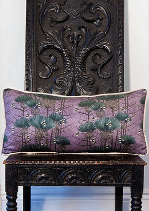 Bill's Bees - Ghost Lilac - Velvet Cushion - £59/NOW £35