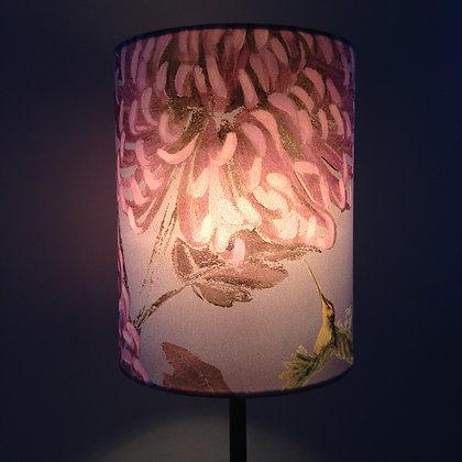 Chrysanths Japonais - Empress Pink - Silk Shade - £65/NOW £39