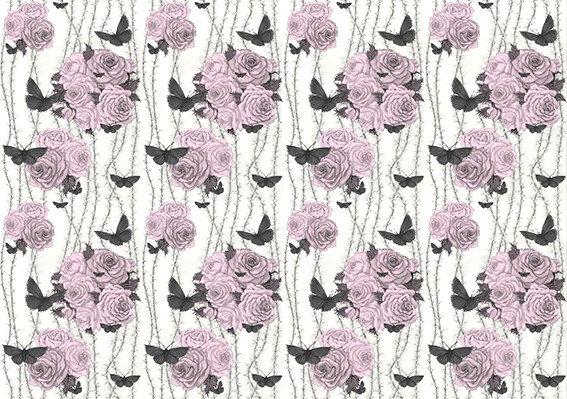 Rosabunda - Seville Rose - Silk Furnishing Fabric -  ON SALE NOW £59  per meter
