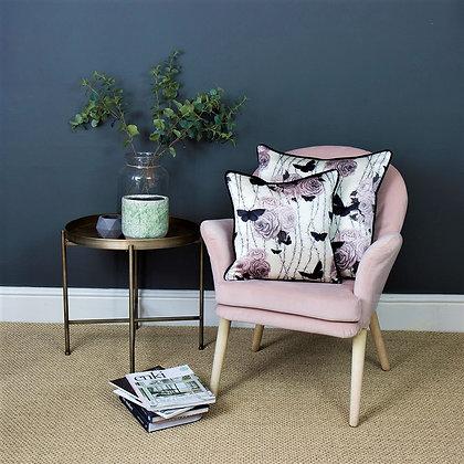 Rosabunda - Seville Rose - Silk Cushion - £89 /NOW £65