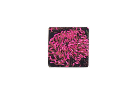 Chrysanths Nuit - Coaster