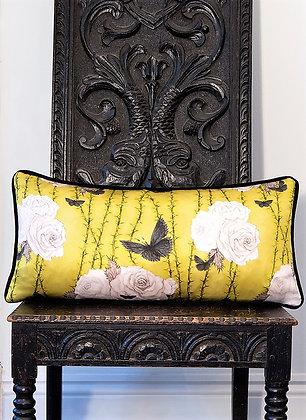 Rosabunda - Deco Gold - Silk Cushion - £59 to £99
