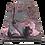 Thumbnail: Chrysanths Japonais - Empress Pink - Silk or Cotton - £89 to £119 per meter