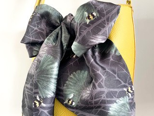 Lux & Bloom Silk Scarves Back in Stock!