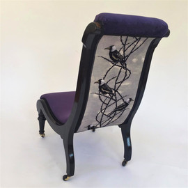 London Upholstery House Vintage Chair July 2019