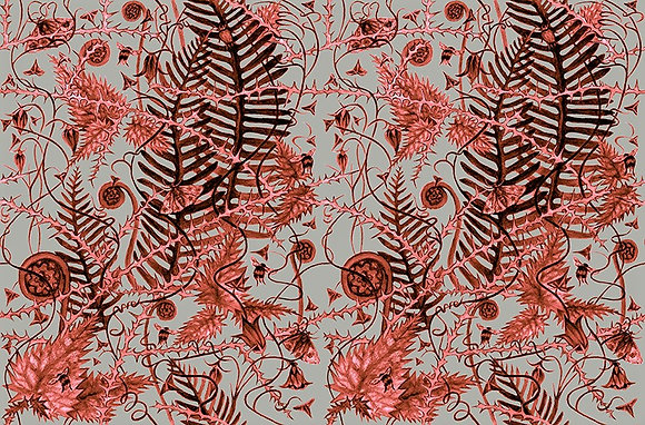 Secret Hedgerow - Autumn Bronze - fabrics by the meter - £89 to £119