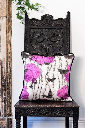 Rosabunda - Venetian Purple - Silk Cushion - £59/NOW£45