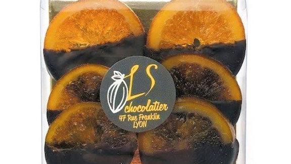 6 tranches d' Oranges confites