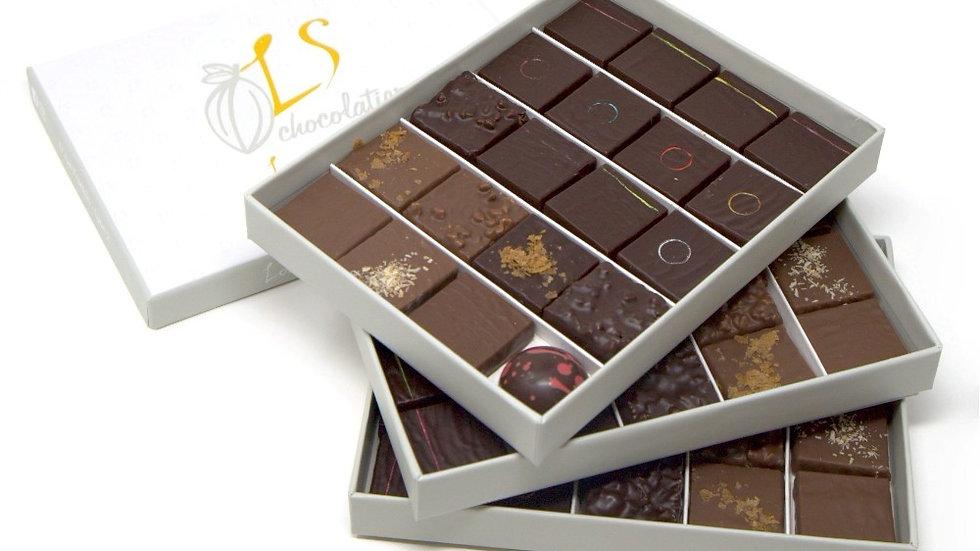 Coffret 60 chocolats assortis