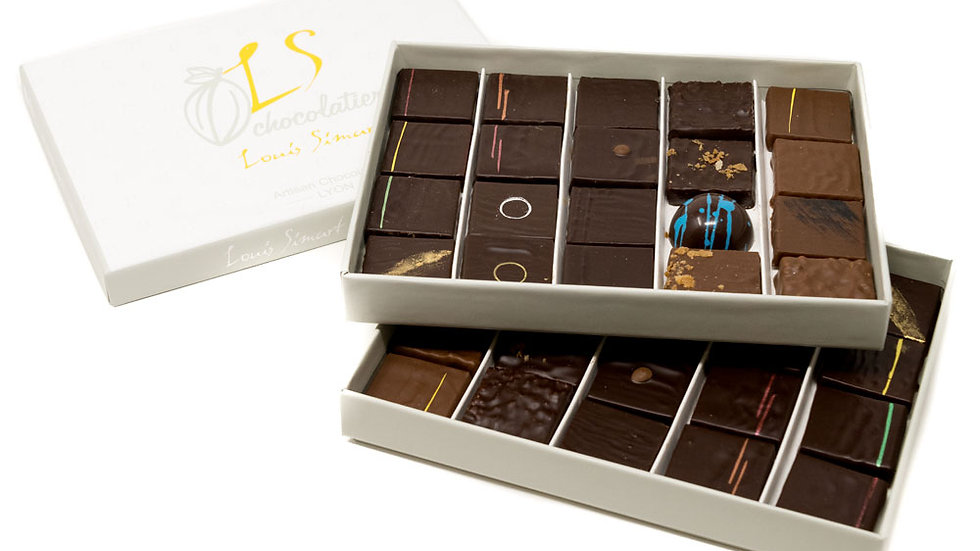 Coffret 40 chocolats assortis