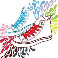 тапки-с-красными-шнурками-и-синью-81003903.jpg