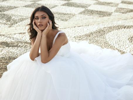 Pronovias y Marchesa: la colección de vestidos de novias con diseños de Alta Costura.