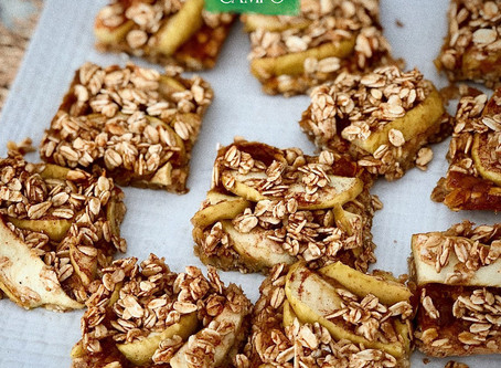 Prepara estas deliciosas Apple            Bars Orgánicas