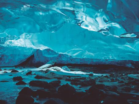 Cuevas de hielo en Whistler, Canadá