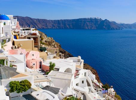 Santorini, un paraíso en el Mediterráneo