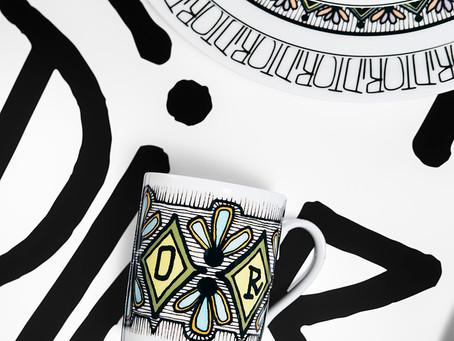 Dior Maison x Shawn Stussy juntos para vestir tu mesa