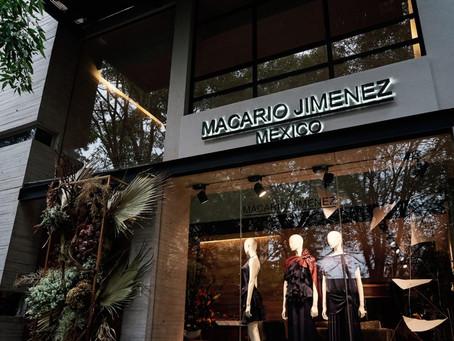 Macario Jimenez presentó su colección Spring-Summer 2020