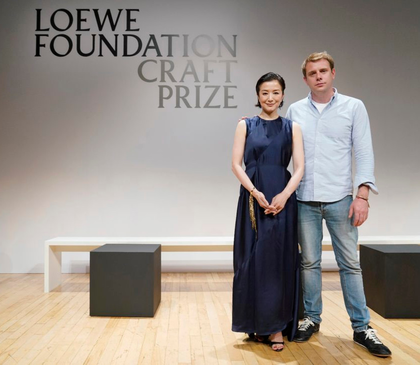 TOKYO, JAPAN – JUNE 25: during the Loewe Foundation Craft Prize Award Ceremony on June 25, 2019 in Tokyo, Japan. (Photo by Christopher Jue/Getty Images for LOEWE)