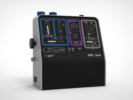 Header imageDyson desarrolla CoVent, un ventilador portátil para ayudar con el COVID-19