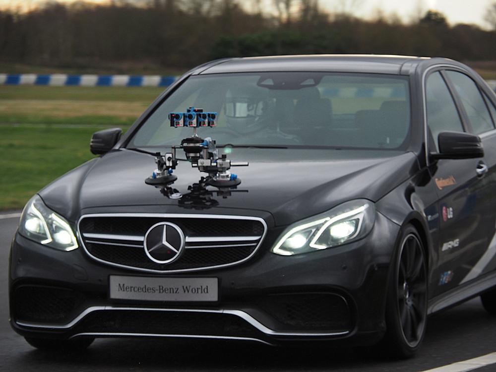 Mercedes-Benz 360 VR video