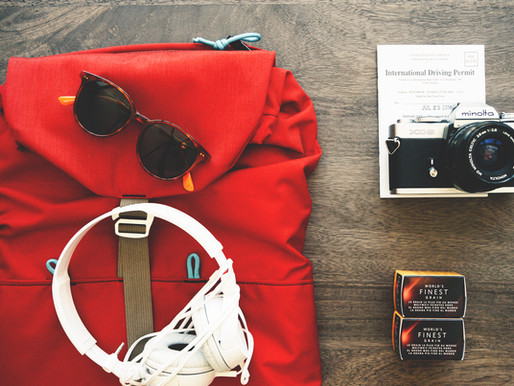 #MyArtTravel Tips: Less is More. Packing Tips for Globe-Trotters