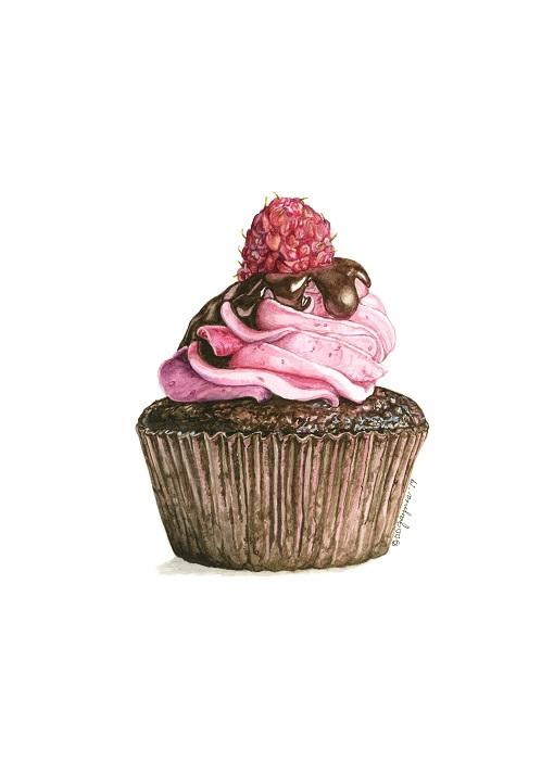 Rasberry Dream Cupcake